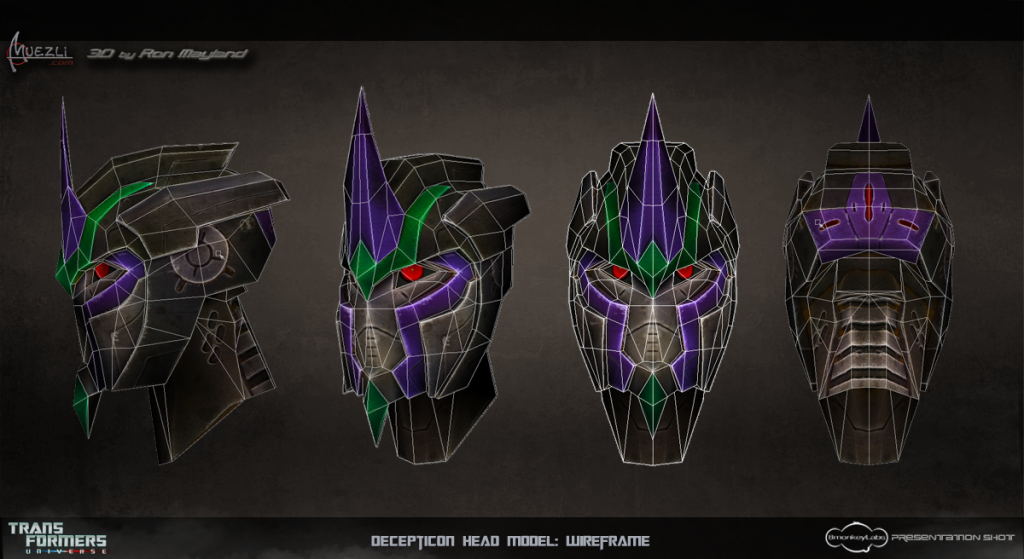 Transformers_Universe_Decepticon_Head_Wireframe_sheet by Muezli