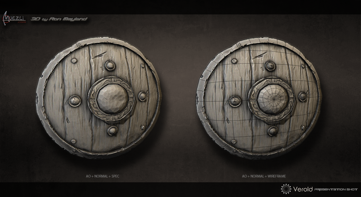 Viking_Shield_AO&Wire_by_Muezli